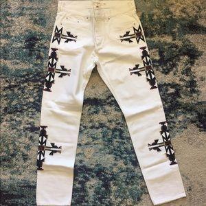 Men's Isabel Marant H&M navajo Aztec jeans 34